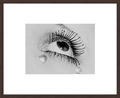 History of Photography: Tears, 1930 by Man Ray