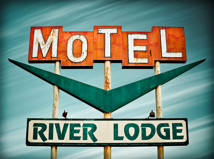River Lodge Motel by Marc Shur