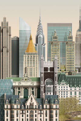 Curated Lumas Architecture Prints: New York by Martin Schwartz