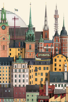 architecture photography:  Stockholm II by Martin Schwartz