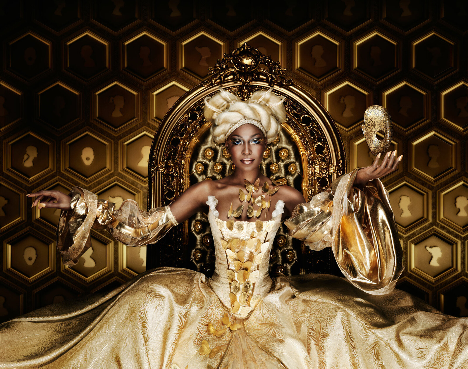 Gold Queen by Marcel Wanders