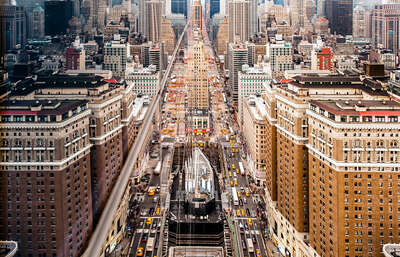 Art Prints: architecture and cityscapes: Hidden City 2 by Navid Baraty