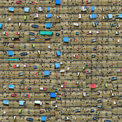 Traffic Chaos de Nancy Lee