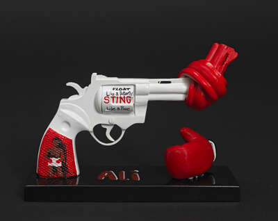 Art Object: Punch for Peace by Muhammad Ali