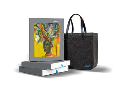 art gifts for guest room: Selection Bag - Flowerheads by Olaf Hajek