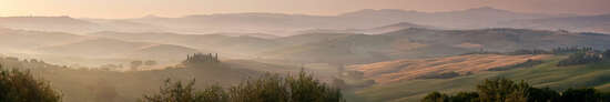 Pienza Ochre by Peter Adams