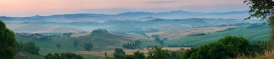 Pienza Emerald by Peter Adams
