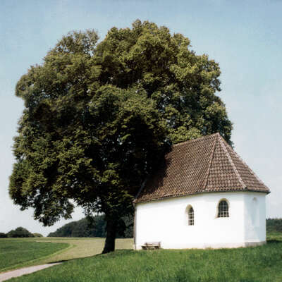 rustic and farmhouse art for guest room: Kapelle by Peter Von Felbert