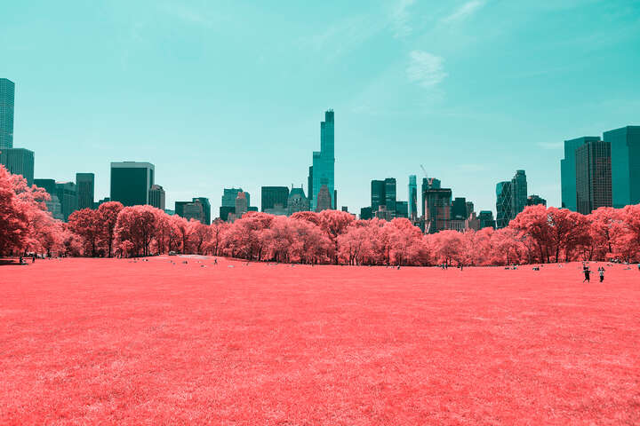 Infrared NYC II by Paolo Pettigiani