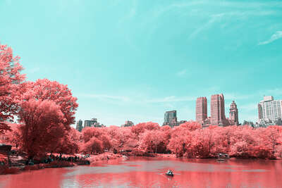 Infrared NYC IV by Paolo Pettigiani