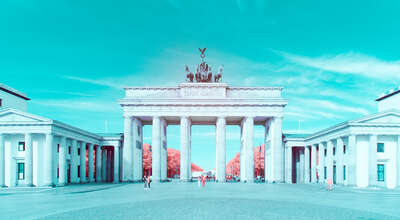 City Wall Art  Infrared Berlin II by Paolo Pettigiani