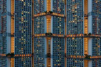 Art Prints: architecture and cityscapes: Cells Interlinked by Peter Stewart