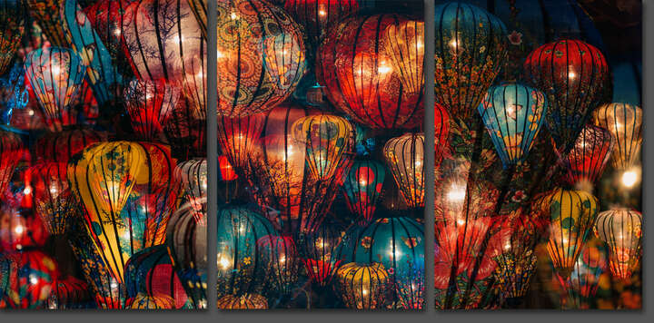Sea of Lanterns II by Peter Stewart