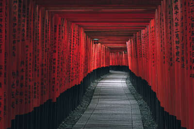 Japanese art: The Thousand Gates by Peter Stewart