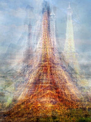 The Eiffel Tower by Pep Ventosa