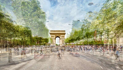 Champs Elysees, Paris by Pep Ventosa