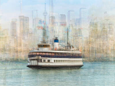 architecture photography:  Toronto Island Ferry by Pep Ventosa