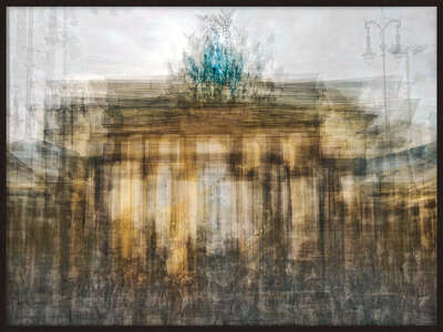 The Brandenburg Gate by Pep Ventosa