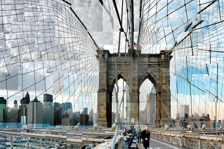 Brooklyn Bridge Crossing von Pep Ventosa