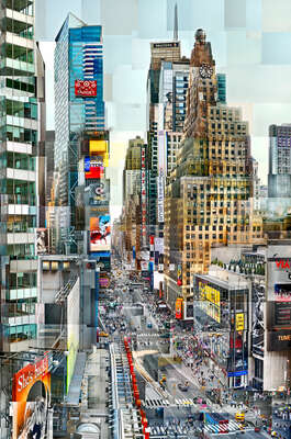 Times Square by Pep Ventosa