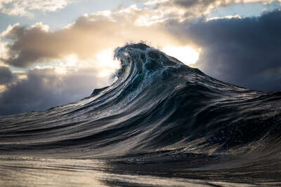 Beach wall art: Sunburst by Ray Collins