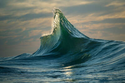 water art photography:  Apex by Ray Collins