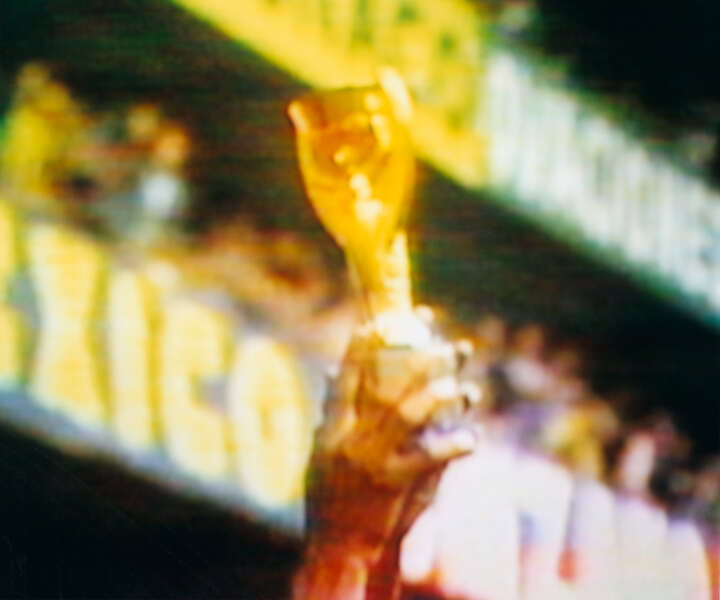 Jules Rimet Trophy Brazil v Italy 4-1 (Final) 21.06.1970, Estadio Azteca, Mexico City, Mexico von Robert Davies