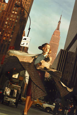 figurative art:  New York, Scene 1 by Rafael Fuchs