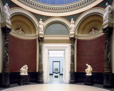 Alte Nationalgalerie, Rotunde II by Reinhard Görner