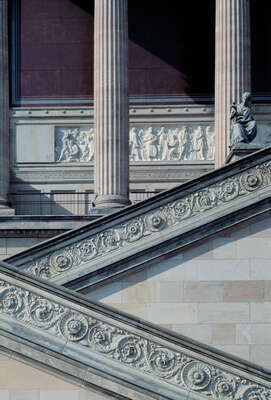 curated stair artworks: Alte Nationalgalerie by Reinhard Görner