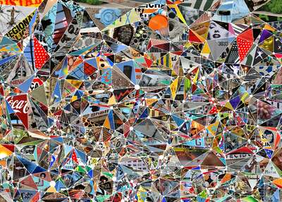 curated photo collage artworks: Monroe Asterism by Ross Holden