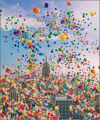 Gift Ideas under £600: NYC Balloons by Robert Jahns