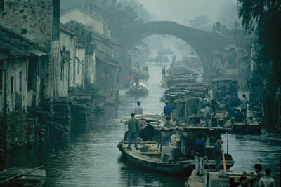 Suzchou, China 1981 von Robert Lebeck
