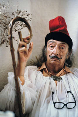 Celebrity Art:  Salvador Dali, Cadaqués, Spanien 1979 by Robert Lebeck
