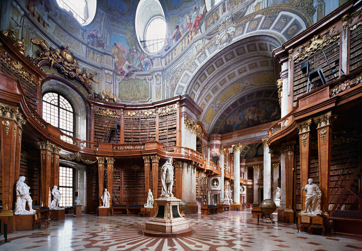 Nationalbibliothek Wien by Rafael Neff