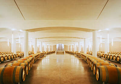 Chateau Cheval Blanc, Bordeaux, France von Rafael Neff