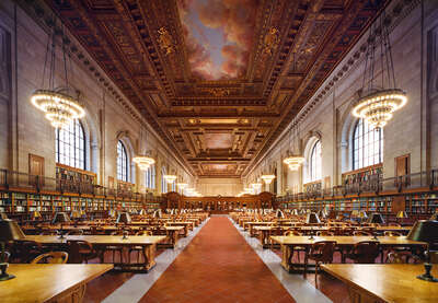 New York Public Library by Rafael Neff