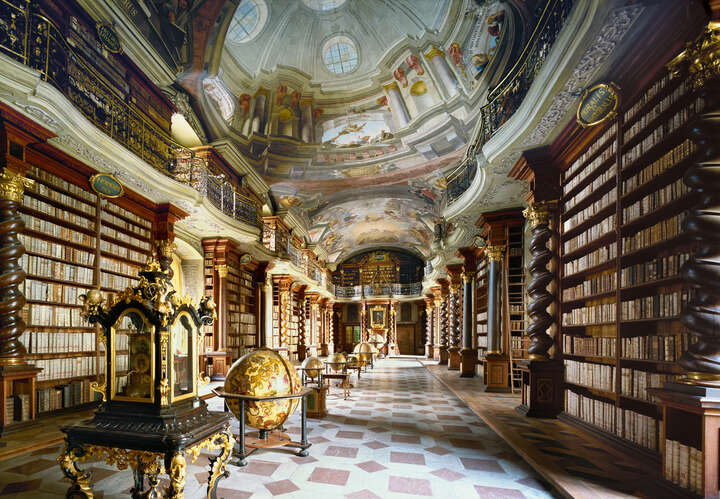 Nationalbibliothek Prag by Rafael Neff