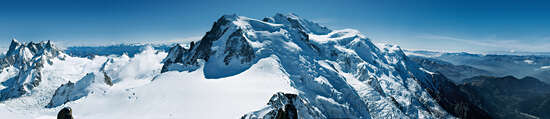 Big Picture Gift Ideas: Massif du Mont Blanc by Rudolf Rother