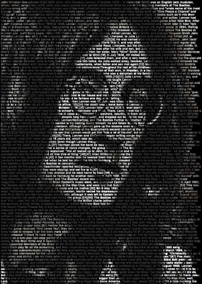 Black and White Photography: John Lennon by Ralph Ueltzhoeffer