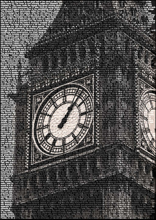 Big Ben by Ralph Ueltzhoeffer