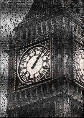 Architecture Prints: Big Ben by Ralph Ueltzhoeffer