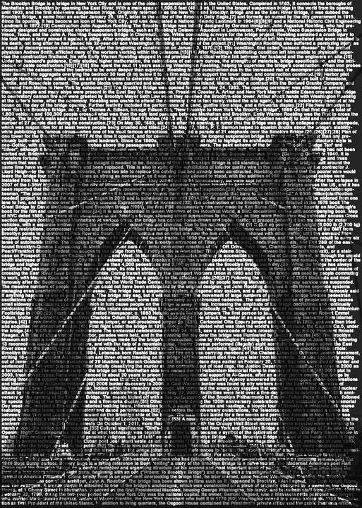 Brooklyn Bridge von Ralph Ueltzhoeffer