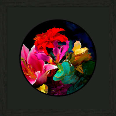 "bedroom wall art: ""bloom v7.1"" by René Twigge"