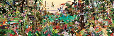 pop artworks by Renaud Delorme: Jungle by Sanda Anderlon