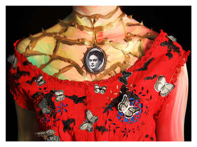 Frida Kahlo Artworks: Frida by Sabine Dehnel