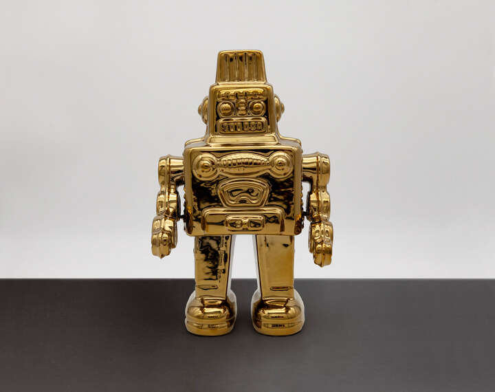 My Robot Gold by Seletti