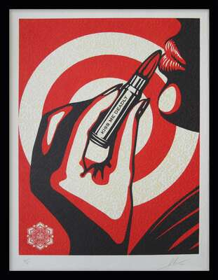 Kiss Me Deadly by Shepard Fairey