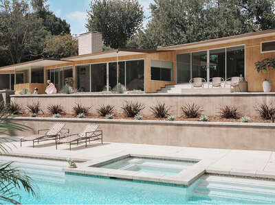 Mid Century Modern artworks: CASE STUDY HOUSE #10 (Kemper Nomland) by Stephanie Kloss