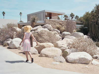 KAUFMANN HOUSE (Richard Neutra) by Stephanie Kloss